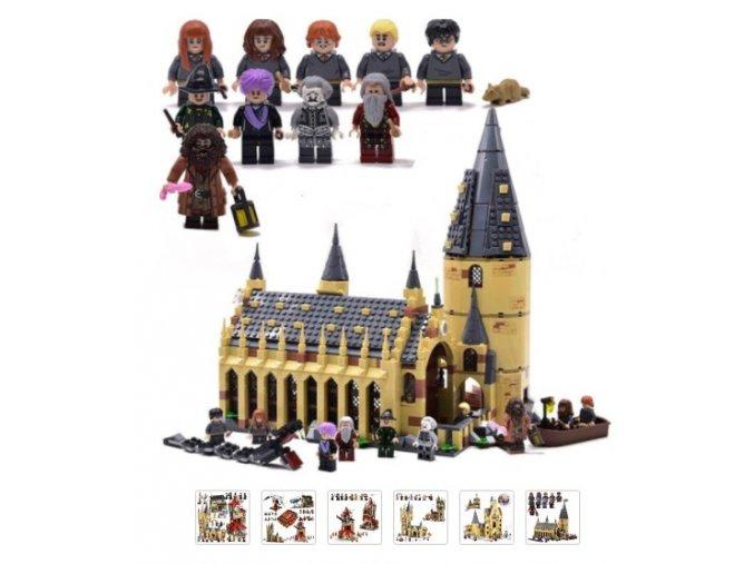 Stavebnicové sety Harry Potter