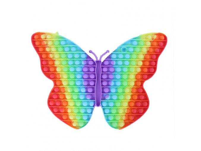 Pop It - Praskání bublin, Motýl duhový gigant