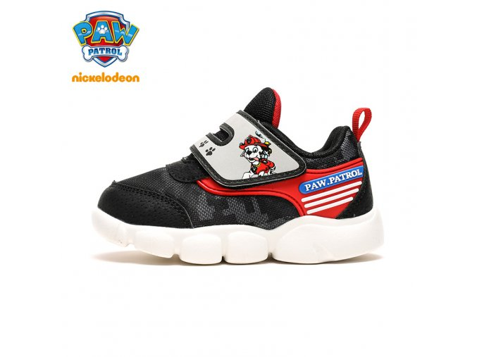 PAW PATROL Children Casual Shoes For Kids Baby Sport Shoes Spring Non Slip Breathable Girls Boys Black