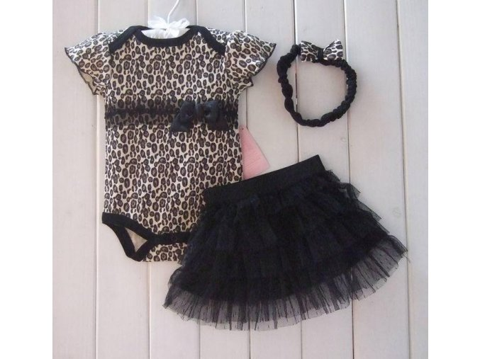 Dívčí leopardí set