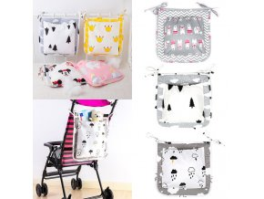 Fashion mummy Diaper Bag Stroller Baby Nappy Bag Baby Care Baby bed hanging bag diaper bag 0
