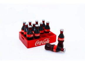 Cute Mini cola Miniature food scene model doll house accessories Dollhouse Miniature 1 12 Doll Accessories 0