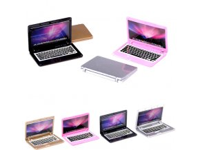 4 Color Mini laptop computer 5 5 4 4 0 2cm doll house scene MINI laptop 0