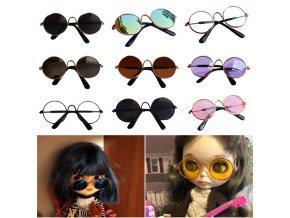 Doll Cool Glasses Pet Sunglasses For BJD Blyth American Grils Toy Photo PropsRamadan Festival GiftRamadan Festival 0