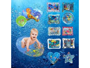 water play mat Various Models Inflatable Children Patted Pad Infant Baby Water Cushion Big Collection 0