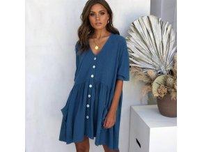 Menoea Summer Short Sleeve Casual Loose Dress Maternity Clothes for Pregnant Women Vestidos Gravidas Lady Dress 0