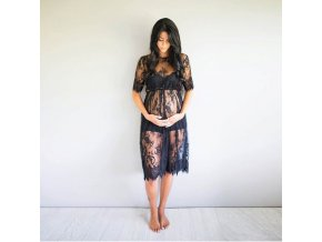 2019 Pregnant Mother Dress New Maternity Photography Props Women Pregnancy Clothes Lace Dress for Pregnant Photo 1