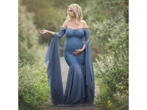 Maternity Photography Props Dresses For Pregnant Women Clothes Lace Maternity Dresses For Photo Shoot Pregnancy Dresses 0