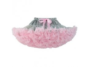 Baby infant girl tutu pettiskirt photography fluffy skirt toddler newborn princess christmas skirt for girls 0 Grey Pink