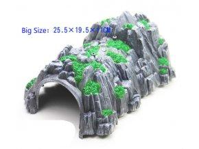 EDWONE Big Plastic Tunnel Rockery Railway Track Train Slot Railway Accessories Original Toy Gifts For Kids 0