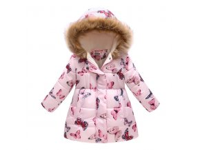 Kids Girls Jacket 2018 Autumn Winter Jacket For Girls Coat Baby Warm Hooded Outerwear Coat Girls 3