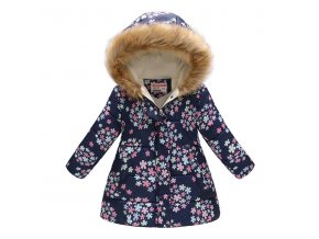 Kids Girls Jacket 2018 Autumn Winter Jacket For Girls Coat Baby Warm Hooded Outerwear Coat Girls 4