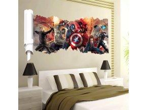 3D samolepka Avengers 2