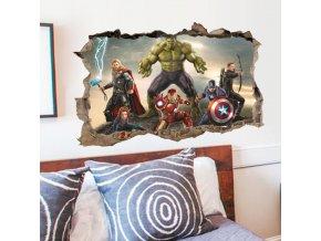 3D samolepka Avengers 3