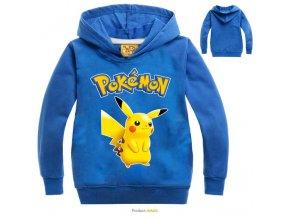 2019 new children s cartoon Hoodie pokemon go Spring summer cotton long sleeved sweater pikachu sport 0
