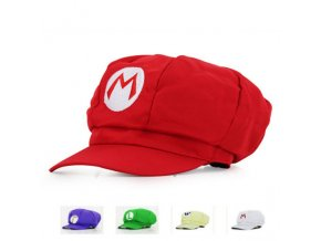 Adults Kids Anime Super Mario Hat Luigi Bros Cosplay Baseball Cap Cos Costume Accessories Halloween Party 0
