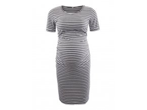 Pack of 3pcs Women s Side Ruched Maternity Clothes Bodycon Dress Mama Casual Short Sleeve Wrap 5