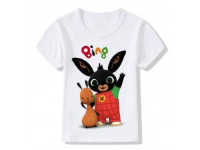 Children Cartoon Bing Rabbit Bunny Funny T shirt Baby Boys Girls Cute Summer Tops Kids Casual 1