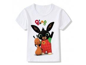 Children Cartoon Bing Rabbit Bunny Funny T shirt Baby Boys Girls Cute Summer Tops Kids Casual 1