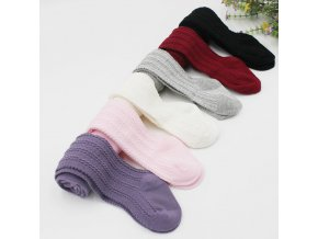 2017 new High Quality cute Baby Girls Knee High Cotton Long Warm Stocking Kids Toddlers Tights 1
