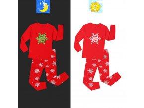 Boys Excavator Cartoon Pajamas Sets Kids Pyjamas Glow in the Dark Baby Pajamas Sets Kids Pijamas 3