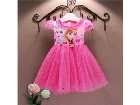 Anna Elsa Girls Dress Summer Snow Queen Dress For Girls Party Dress Birthday Gift Toddler Princess 7