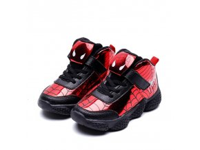 Cartoon Spiderman Kids Boys Sports Sneakers Children Glowing Kids Shoes Chaussure Enfant Girls Shoes Sport Running 2 (1)