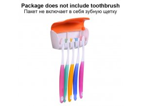BAISPO Automatic Toothpaste Dispenser Dust proof Toothbrush Holder Wall Mount Stand Bathroom Accessories Set Toothpaste Squeezer 2