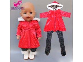 43 cm Baby Doll Clothes Winter Ski Jacket Pants Set 18 Inch Girl Doll Coat Dolls 15