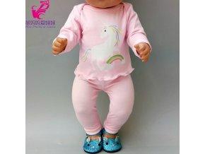 43 cm Baby Doll Clothes Winter Ski Jacket Pants Set 18 Inch Girl Doll Coat Dolls 8