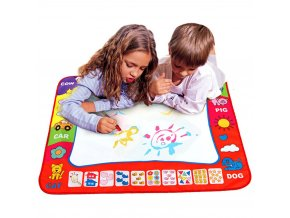 80 x 60cm Baby Kids Add Water with Magic Pen Doodle Painting Picture Water Drawing Play 1