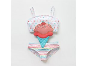 Toddler Infant Baby Girls Swimwear Watermelon Swimsuit Swimming Beach Bathing Bikini Cute Summer One piece Swimming 3