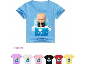 The Cartoon Boys Shorts T Shirt New Summer Children Kids Tops Tees T Shirts Clothing Cotton 1