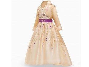 """Zlaté šaty """"Ledové království"""""""