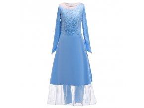 Summer Snow Queen Girls Dress Anna Elsa 2 Cosplay Costume Kids Halloween Princess Dress Fancy Children 11