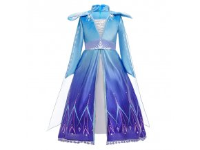 Summer Snow Queen Girls Dress Anna Elsa 2 Cosplay Costume Kids Halloween Princess Dress Fancy Children 13