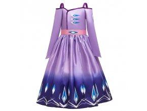 Summer Snow Queen Girls Dress Anna Elsa 2 Cosplay Costume Kids Halloween Princess Dress Fancy Children 14