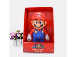 Free Shipping Super Mario Bros Mario PVC Action Figure Collection Toy Doll 9 23cm New in 1