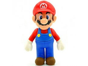 13cm Super Mario Bros Luigi Mario Yoshi Koopa Yoshi Mario Maker Odyssey Mushroom Toadette PVC Action 6