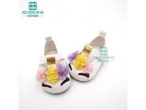 Unicorn botičky pro American girl a Baby Born 43 cm