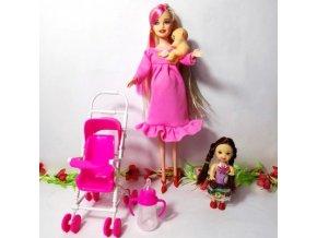 Panenka Barbie s rodinou