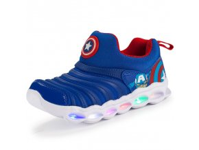 11 Girls kid shoes Luminous Boys Sneaker Lighted Glowing Children Toddler Cartoon Baby Shoes Kids Led Shoes