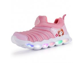 13 Girls kid shoes Luminous Boys Sneaker Lighted Glowing Children Toddler Cartoon Baby Shoes Kids Led Shoes