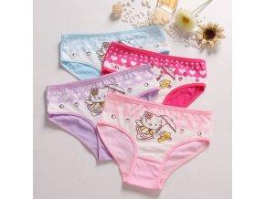 Holčičí kalhotky Hello Kitty 4 ks