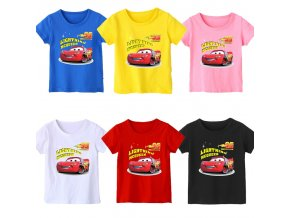 1 2020 New Summer 95 cars Boy T Shirt Cotton Short Sleeve T shirt Print Children s (1)