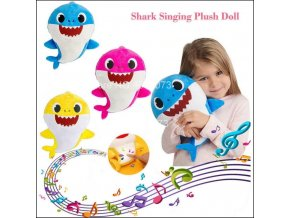Baby Shark plyšová hračka zpívající žralok