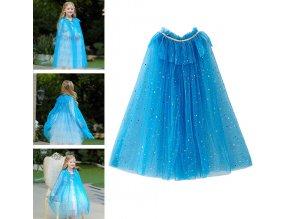 Dětský plášť přes šaty Ledové královstí (Frozen)