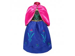 0 Girls Elsa Princess Dress Kids Flower Costume Set Snow Queen 2 Elza Children Birthday Halloween Party