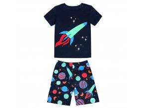 1 Children s Pajamas Summer Short sleeved tshirt shorts sports set Kids Pyjamas Boys Girls Pajamas Baby