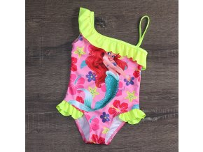 5 High quality 1 9Year Baby Girls Swimsuit one Piece Girls swimwear Children cartoon swimsuit Kids Beach